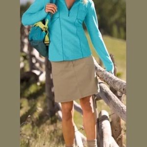 Athleta Dipper Khacki Skort with Pockets